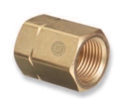 WESTERN ENTERPRISES Brass Cylinder Adaptors, CGA-300 Commercial Acetylene To CGA-510 POL Acetylene
