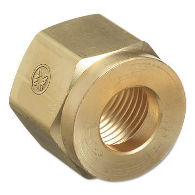 WESTERN ENTERPRISES Regulator Inlet Nuts, Acetylene (Commercial), Brass, CGA-300