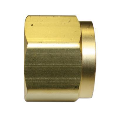 WESTERN ENTERPRISES Regulator Inlet Nuts, Oxygen, Brass, CGA-540