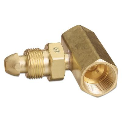 Western Enterprises 92 Regulator Inlet Nuts Argon Helium Nitrogen Brass C...
