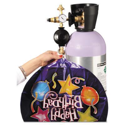 WESTERN ENTERPRISES Professional Foil/Latex Balloon Inflators, Helium, CGA 580, 3,000 psi inlet