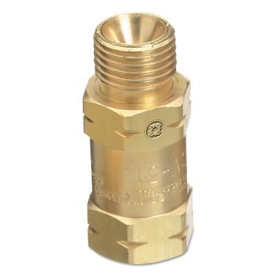WESTERN ENTERPRISES Regulator Bushing Adaptors, 9/16 in - 18, Fuel Gas, F/M, Size B, RH