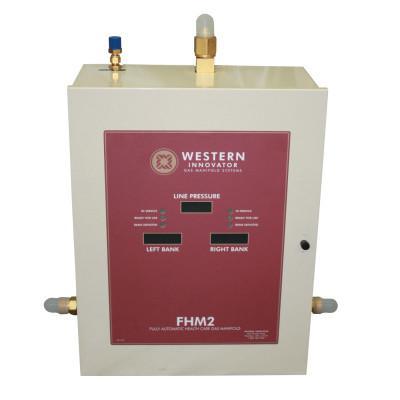 WESTERN ENTERPRISES FHM2 Healthcare Gas Manifolds, 3000 psi, Oxygen