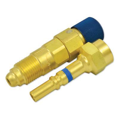 WESTERN ENTERPRISES Quick Connects, Regulator-to-Hose, QDB300 Plug (M); QDB301 Socket (F), Inert Gas