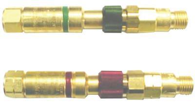 WESTERN ENTERPRISES Safemate Quick Connect Set w/Flash Arrestors, Regulator to Hose, Oxygen/Fuel Gas