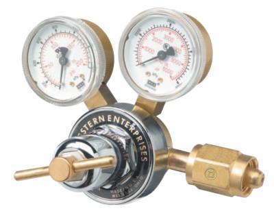 WESTERN ENTERPRISES RHP High Inlet/Delivery Pressure Regulators, Compressed Air, CGA347, 6,000 psi