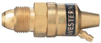 WESTERN ENTERPRISES RP Series F.R.O.G. Preset Flow Regulators, Argon, CGA 580, 3,000 psi inlet