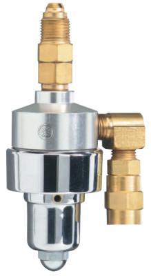 WESTERN ENTERPRISES RPB-3 Gas Savers, Argon/CO2, 5/8 in - 18 RH(M), 200 psi inlet