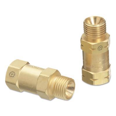 WESTERN ENTERPRISES Regulator Bushing Adaptors, CV-30R & CV-31L Set, 9/16 in - 18, Oxygen; Fuel Gas