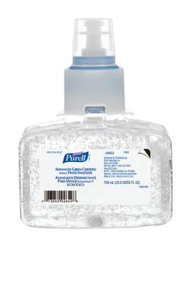 PURELL PURELL Advanced Green Certified Instant Hand Sanitizers, LTX, 700 mL
