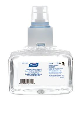 PURELL PURELL Advanced Green Certified Instant Hand Sanitizer Foam, LTX, 700 mL