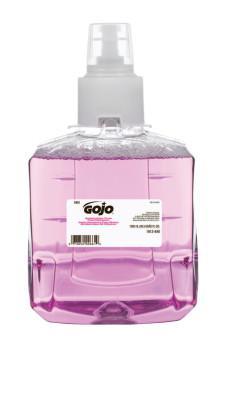 GOJO Antibacterial Plum Foam Hand Wash, Bottle w/Valve, 1,200 mL, Bottle with Valve
