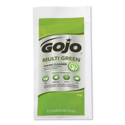 GOJO Multi Green Hand Cleaners, Citrus, Packet, 1/2 oz