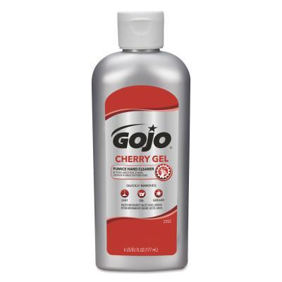 GOJO Cherry Gel Pumice Hand Cleaners, Cherry, Squeeze Bottle, 6 oz