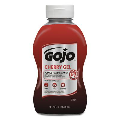 GOJO Cherry Gel Pumice Hand Cleaners, Cherry, Squeeze Bottle, 10 oz