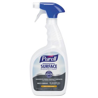 PURELL Professional Surface Disinfectant, Fresh Citrus, 32 oz Spray Bottle