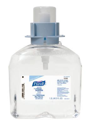 PURELL PURELL Advanced Instant Hand Sanitizer Foam, FMX-12, 1,200 mL, Fruity