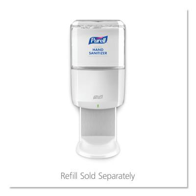 GOJO ES8 Touch Free Hand Sanitizer Dispenser, Plastic, 1200 mL, White