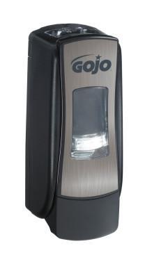 GOJO ADX7 Dispensers, Chrome/Black, 700 mL