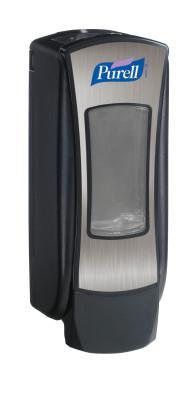 PURELL PURELL ADX12 Dispensers, Chrome/Black, 1,200 mL