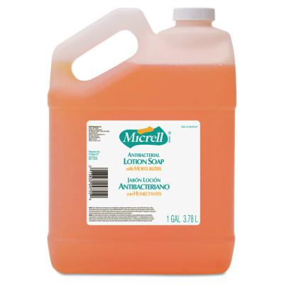 GOJO MICRELL Antibacterial Lotion Soap, Light Scent, 1gal Bottle