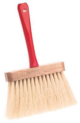 GOLDBLATT Utility Brushes, 6 1/2 in Wood Block, 4 in Trim L, Tampico Fill