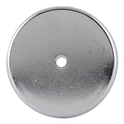 GENERAL TOOLS Shallow Pot Ceramic Magnets, 20 lb, 2 in Dia.