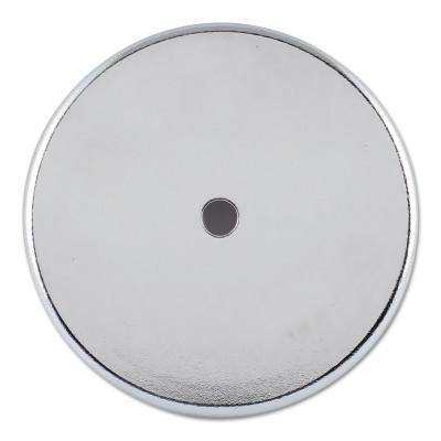 GENERAL TOOLS Shallow Pot Ceramic Magnets, 50 lb, 3 1/4 in Dia.