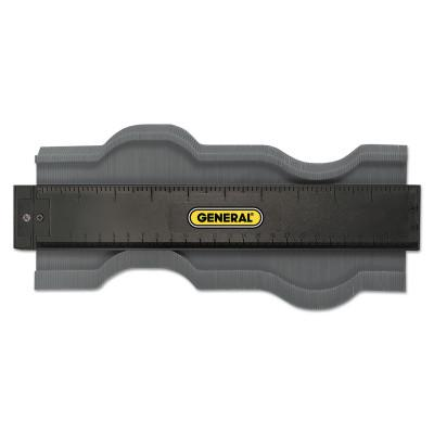 GENERAL TOOLS Contour Gages, Inch/mm, Plastic