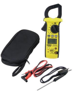 GENERAL TOOLS Rugged HVAC True RMS Amp Clamp Meters, 11 Function, 600A AC/DC