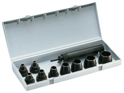 GENERAL TOOLS Professional 10-Piece Gasket Punch Sets, Round, English