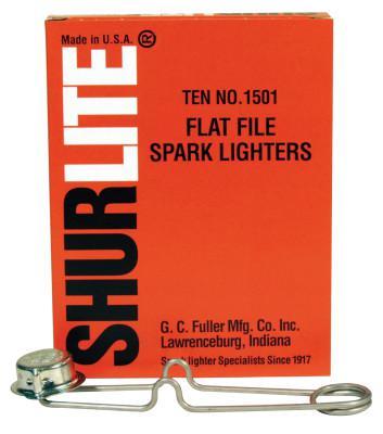 GC FULLER Spark Lighters, Flat Lighter