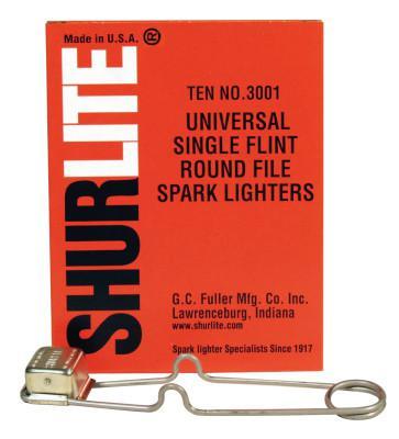 GC FULLER Spark Lighters, Universal Round Lighter