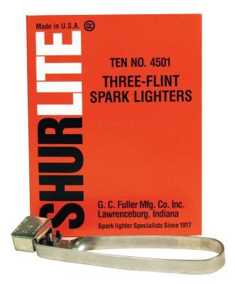 GC FULLER Spark Lighters, Tri-Flint Lighter