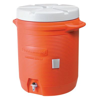 RUBBERMAID HOME PRODUCTS Water Coolers, 5 gal, Orange