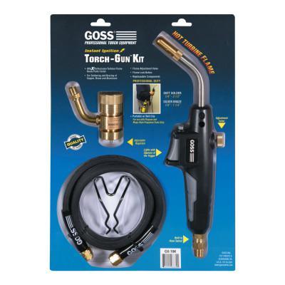 GOSS Torch-Gun Kits, Turbine, Mapp Style Propylene Fuels, Propane