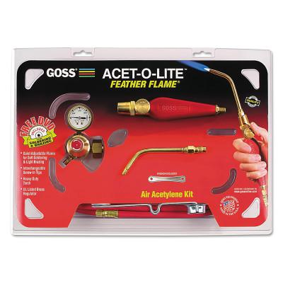 """GOSS Feather Flame Air-Acetylene Torch Outfits, 3/16"""", Acetylene, Soldering; Brazing"""