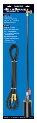 GOSS BlazeBurner KP-320 Series Propane Torch Kit, Igniter Tip, 10 ft Hose, 500,000 Btu
