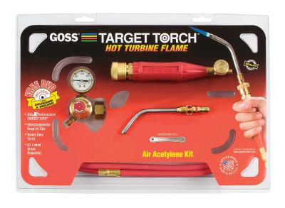 GOSS Target Torch™ Air-Acetylene Outfits, 5/16 in, B Cyl Reg Fitting