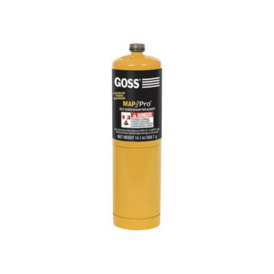GOSS Disposable Cylinders, 16 oz, MAPP
