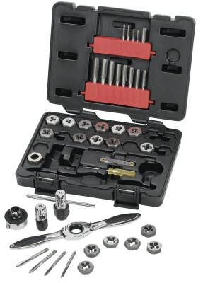 GEARWRENCH 40 Piece Tap & Die Drive Tool Sets, Hex, Metric