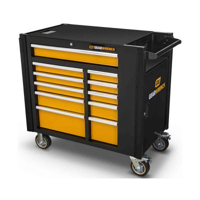 GEARWRENCH 11 Drawer Mobile Work Stations, 42.5 in x 25.4 in x 41 in, 1 Door