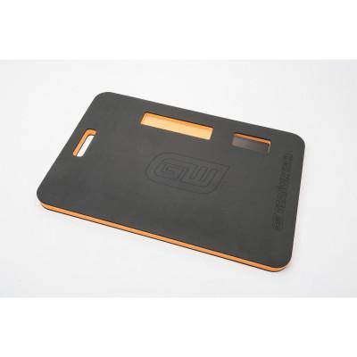 GEARWRENCH Kneeling Pads, 24 in x 16 in, EVA Foam, Black/Orange