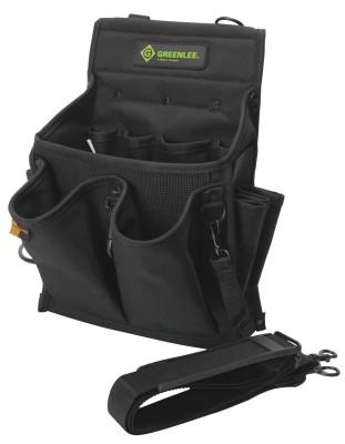 GREENLEE Tool Caddys, 20 Compartments, Cordura Fabric