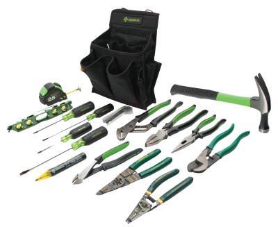 GREENLEE 17 Pc. Journeyman's Tool Kits