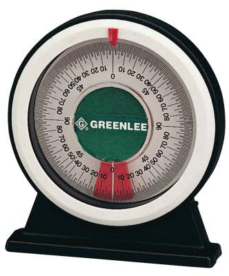 GREENLEE Angle Protractors, Magnetic Base