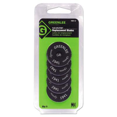 GREENLEE 5 Pack Replacement Blades