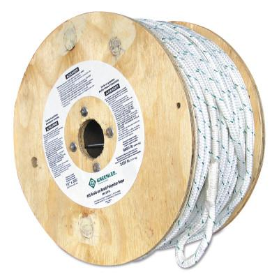 "GREENLEE 3/4""X300' DOUBLE BRAIDEDNYLON /POLY ROPE"