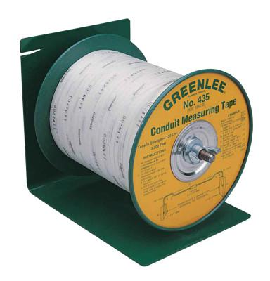 GREENLEE Poly-Measuring Tape, 3/16 in W, Waterproof Polyester, 3000 ft