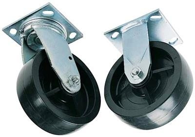 GREENLEE Swivel Caster Sets, 6 in, 500 lb, Casters Set